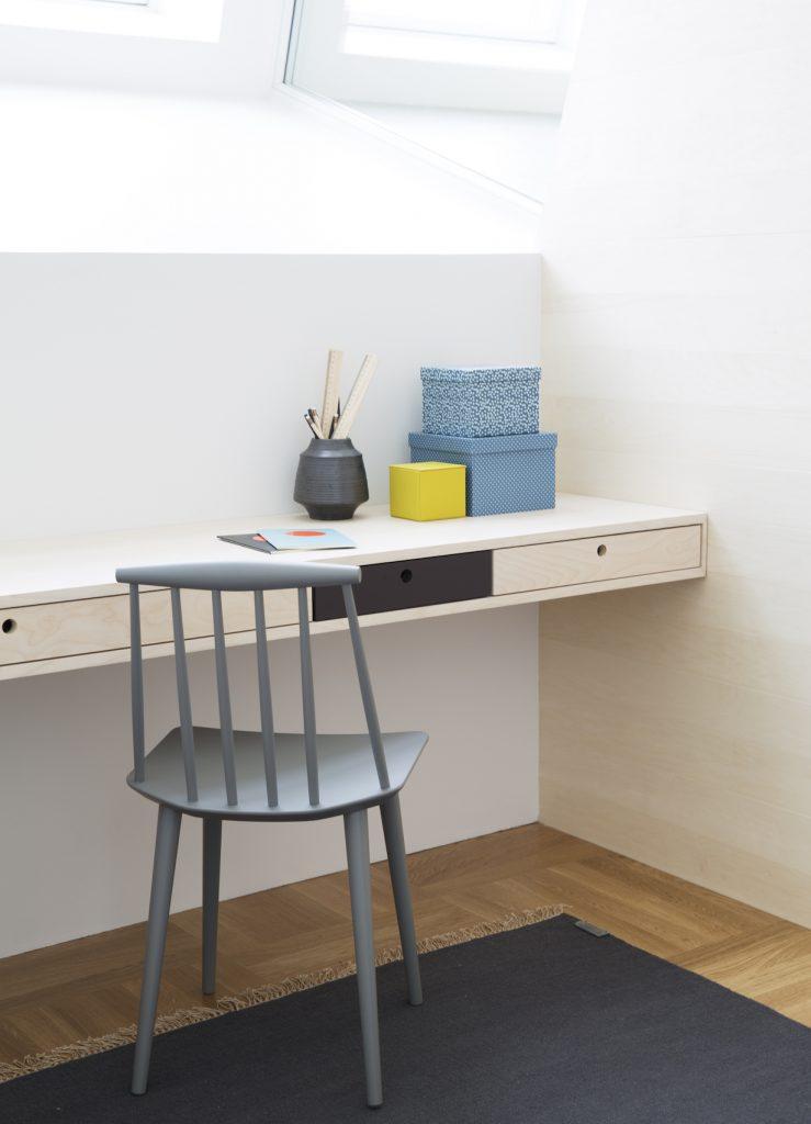 Nyfelt og Strand Interiørarkitekter, multikomforthus i Larvik, spesialinnredning gutterom