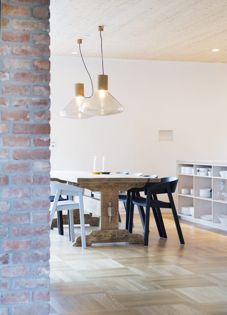 Nyfelt og Strand Interiørarkitekter, Multicomforthus i Larvik, kjøkken