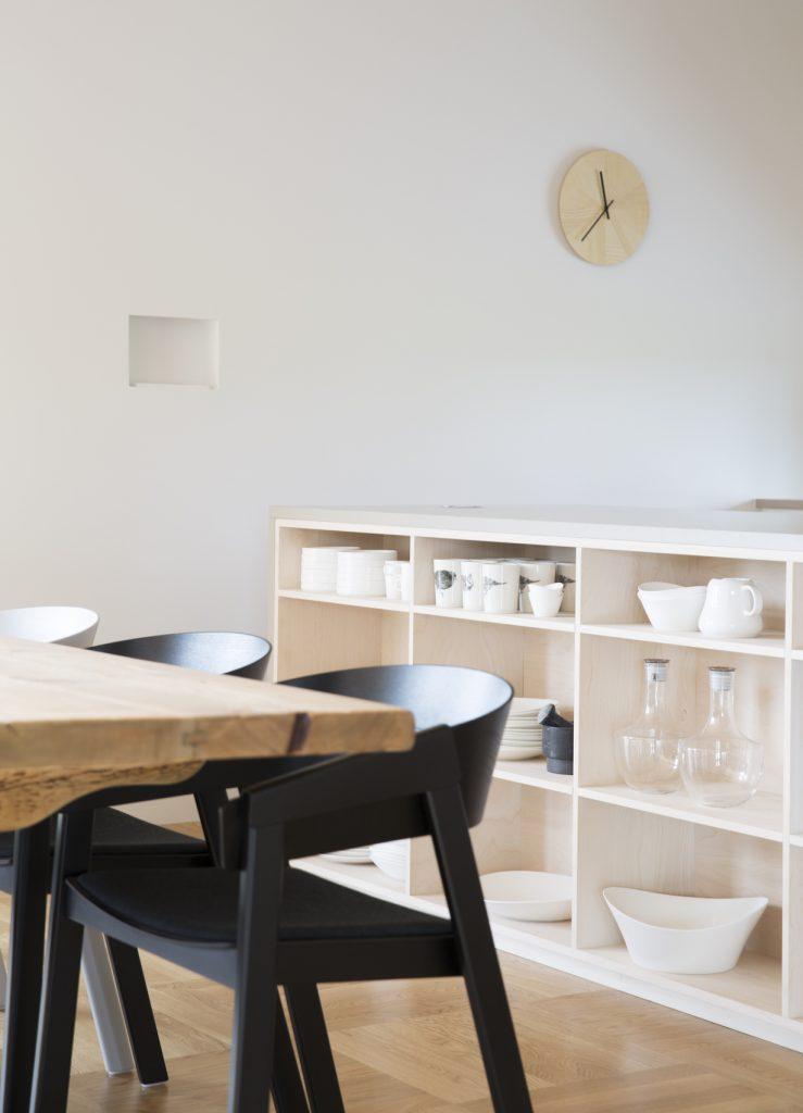 Nyfelt og Strand Interiørarkitekter, multikomforthus i Larvik, kjøkken