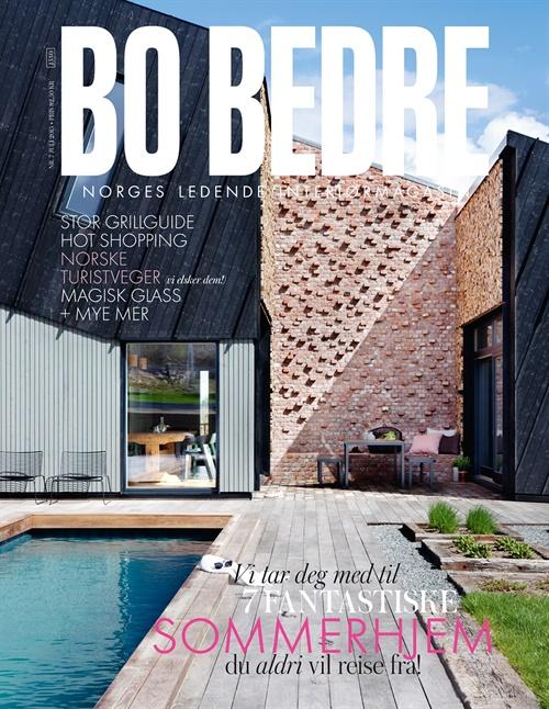 Nyfelt og Strand Interiørarkitekter, Bo Bedre, sommerhjem, multikomforthus