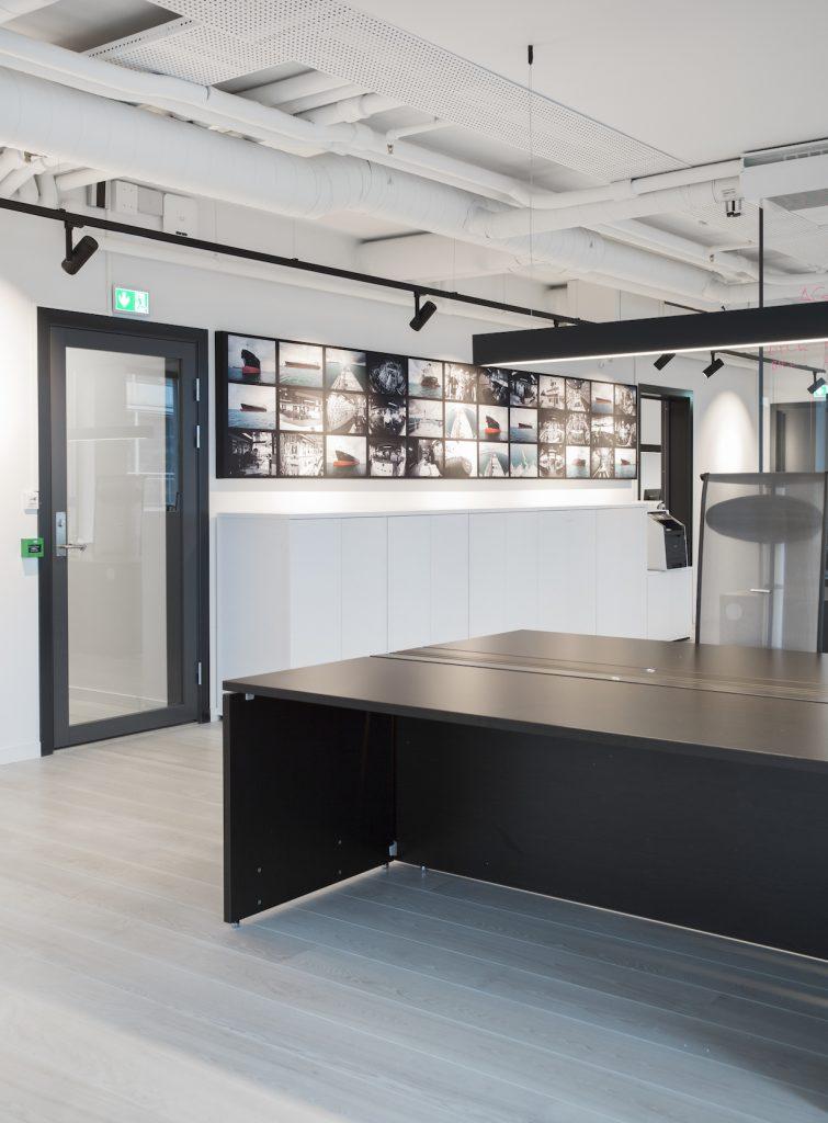 Nyfelt og Strand Interiørarkitekter, Avance Gas, kontor