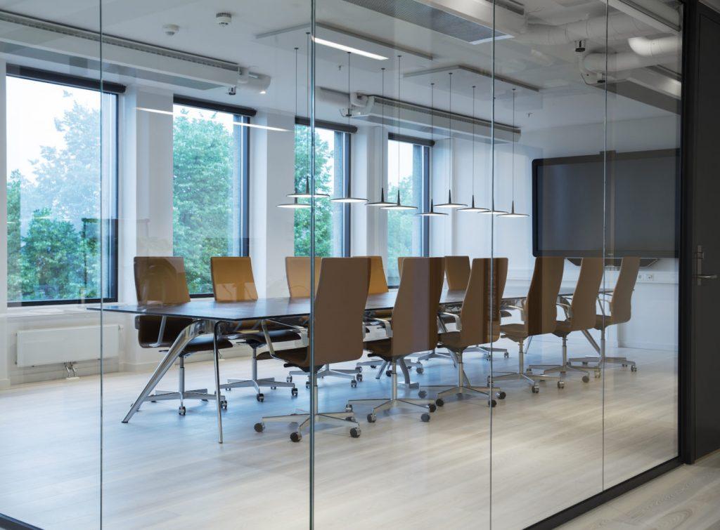 Nyfelt og Strand Interiørarkitekter, Avance Gas, møterom