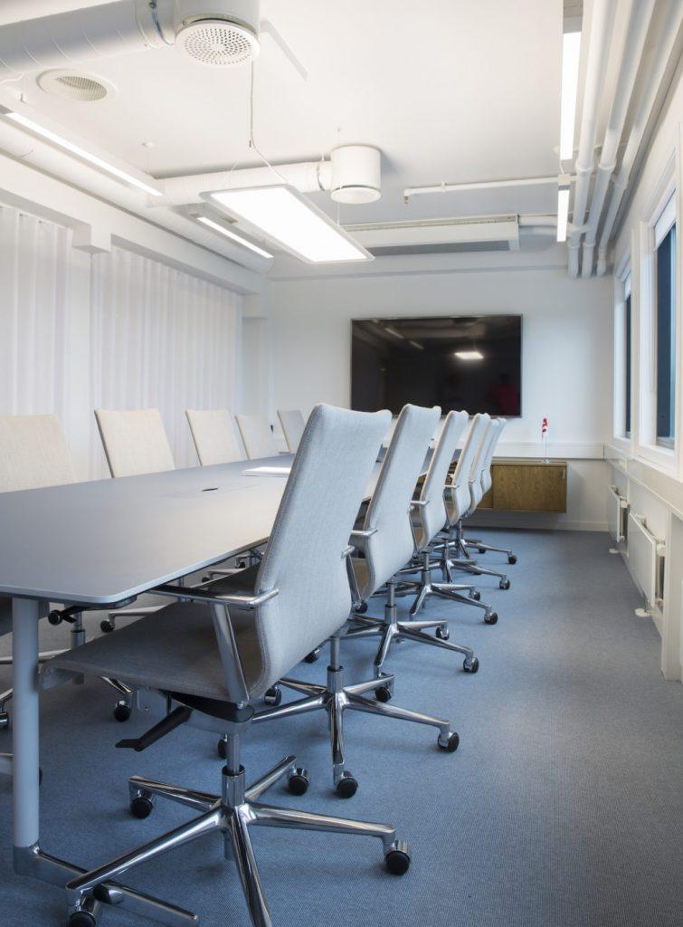 Nyfelt og Strand Interiørarkitekter, Stolt-Nielsen Gas, møterom