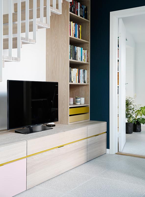 Nyfelt og Strand Interiørarkitekter, enebolig Tønsberg, spesialinnredning