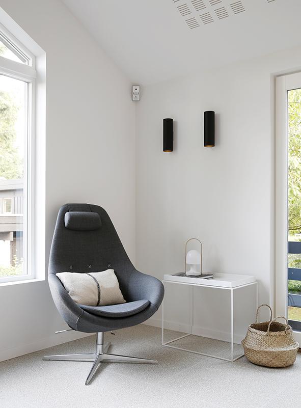 Nyfelt og Strand Interiørarkitekter, enebolig Tønsberg, stue