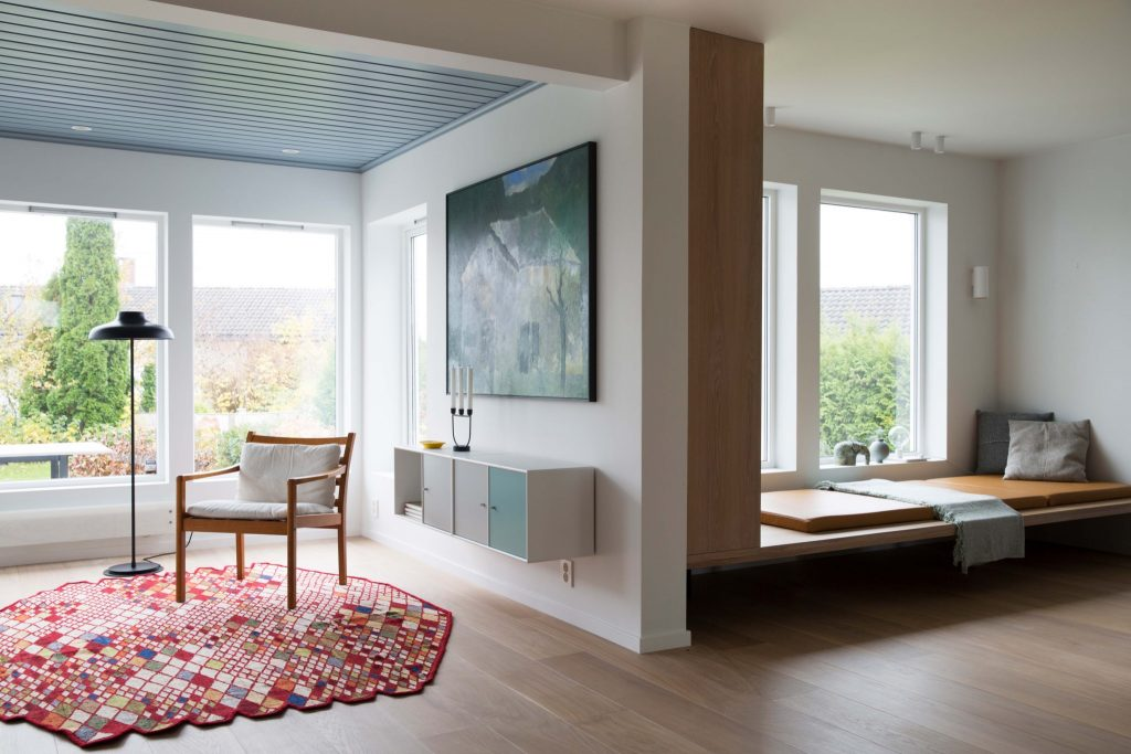 Nyfelt og Strand interiørarkitekter, enebolig nøtterøy, kunst