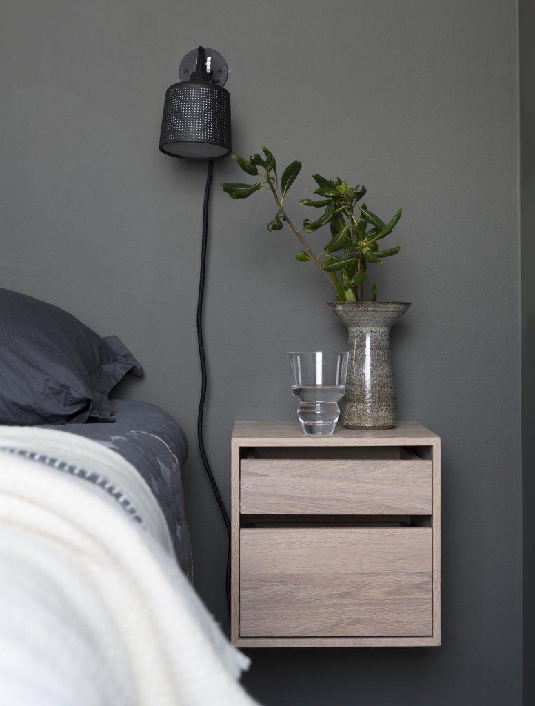 nyfelt og strand interiørarkitekter, leilighet i Oslo, soverom