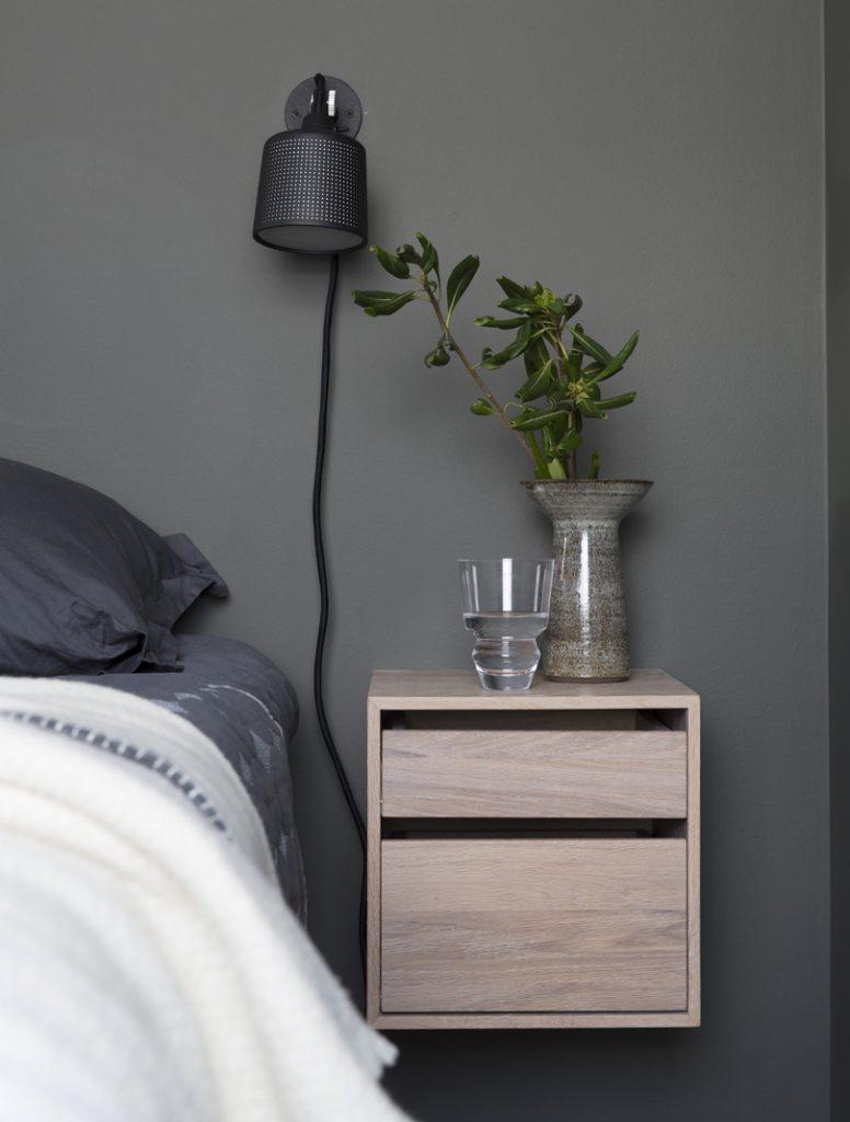 Nyfelt og Strand interiørarkitekter MNIL leilighet Oslo soverom