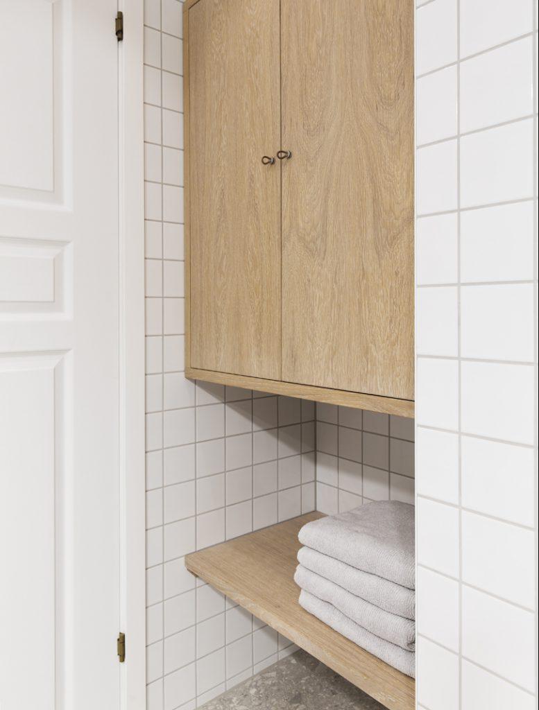 Nyfelt og Strand interiørarkitekter MNIL leilighet Oslo baderomsinnredning