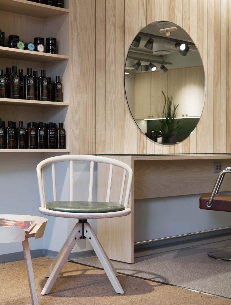 Påhåret, Tønsberg, nyfeltogstrand, interiørarkitekter, ventestol
