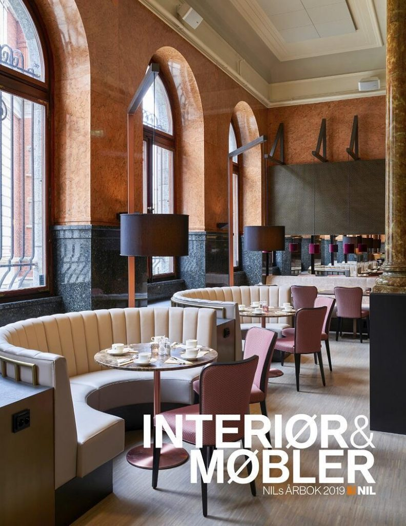 NILs årbok interiør og møbler 2019, nyfelt og strand interiørarkitekter mil